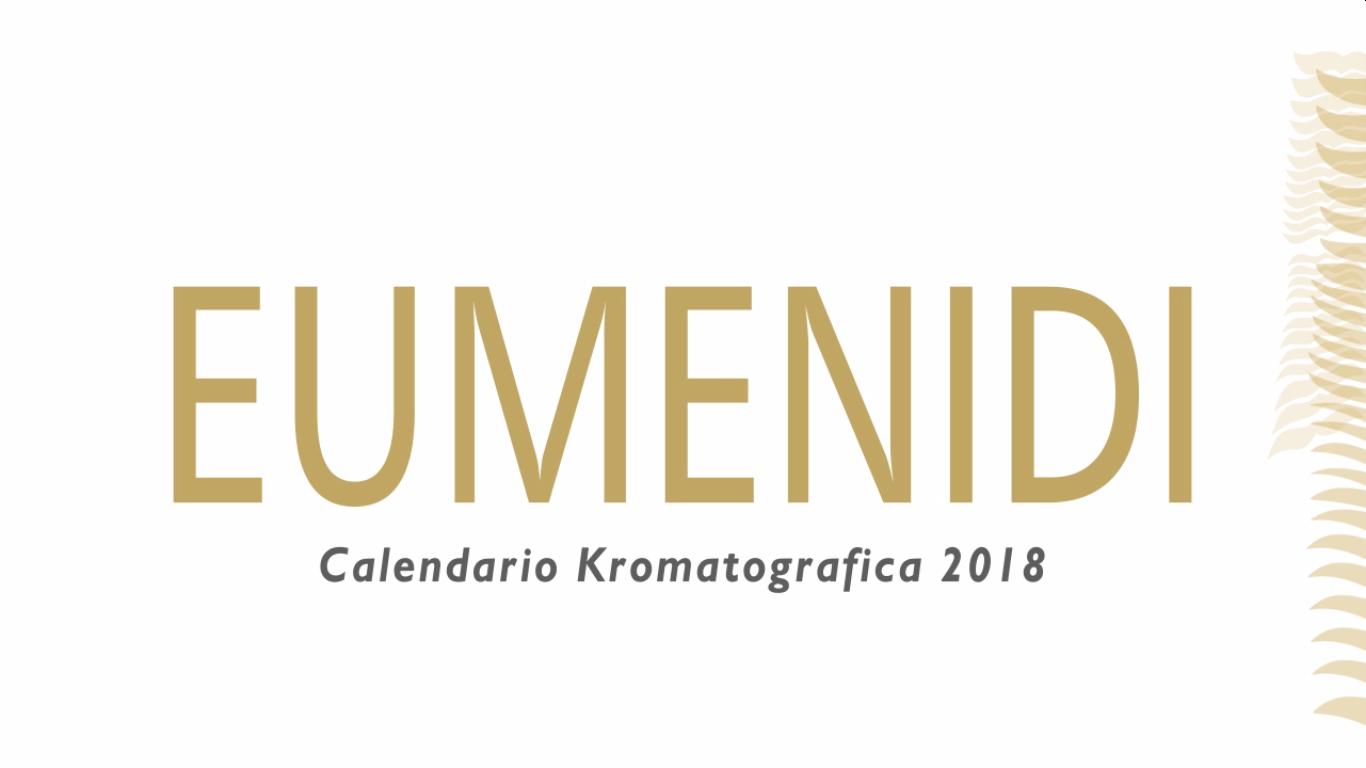 Chi Ha Inventato Il Calendario.Eumenidi Calendario Kromatografica 2018 Kromato Edizioni